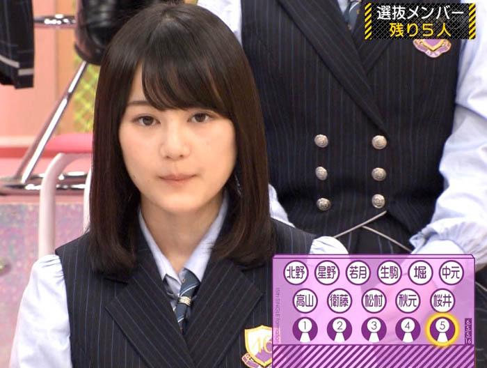 15th シングル選抜発表 生田