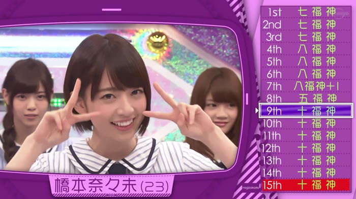 15th シングル選抜発表 橋本
