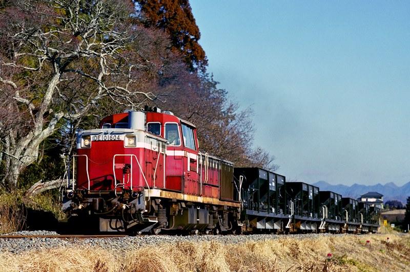 2002年1月30日 野上原~玉川村にて