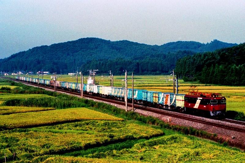 1994年9月1日 白河~久田野にて