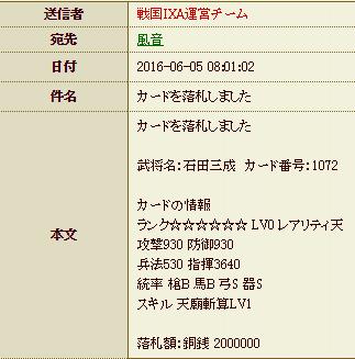28 6月21日 石田購入