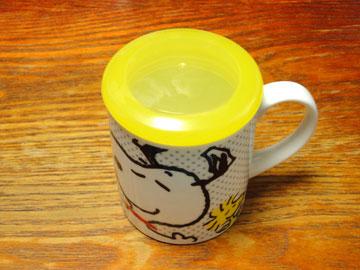 スヌーピーのマグカップ蓋