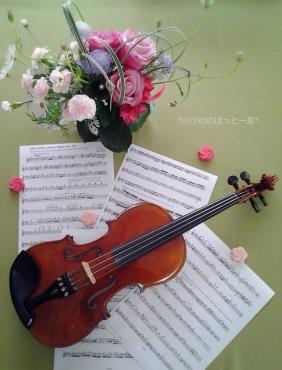 ビバルディの春を練習中