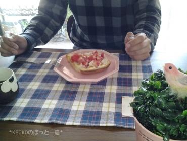 夫用マシュマロバタートースト
