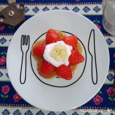 お花のミニパンケーキ