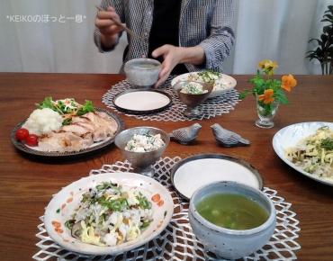 母の田舎風山菜ちらし寿司3