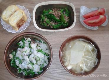 鯖と大葉の混ぜご飯2