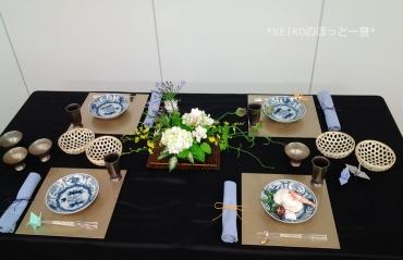 2016年七夕のテーブルコーディネート