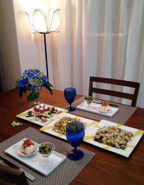 夏野菜のおつまみたち