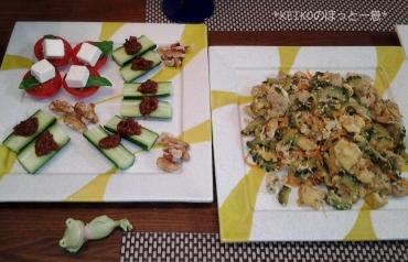夏野菜のおつまみたち3