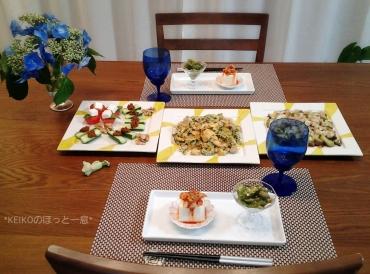 夏野菜のおつまみたち4
