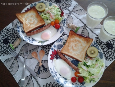 スマイルトーストモーニング