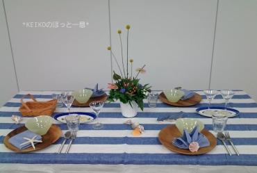 2016年 夏のテーブルコーディネート