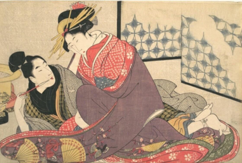 浮世絵 春画 喜多川歌麿・春画①