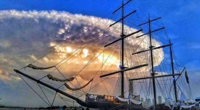 cloud strange ufo sky phenomena