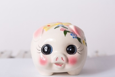 豚の貯金箱 2