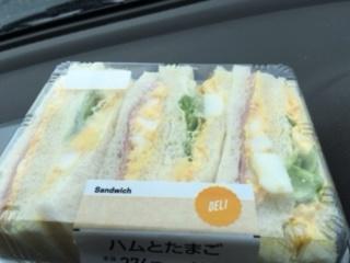 サンドイッチハムと卵