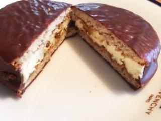 チョコパイチーズケーキ中身