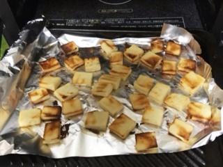凍り豆腐おやつオーブン焼