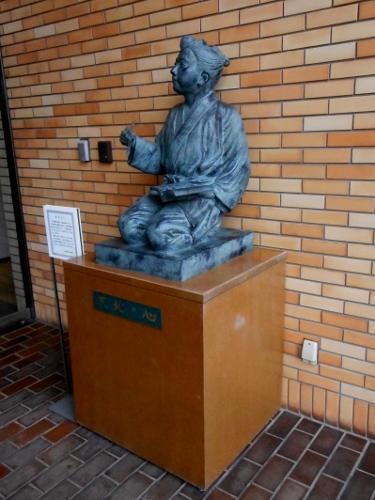 小田原 報徳博物館 二宮坐像