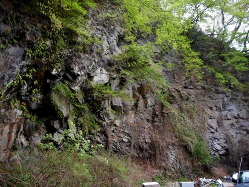 真鶴 小松石 採掘場跡