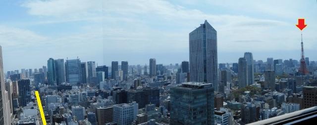 霞が関ビルからの眺望 2016①