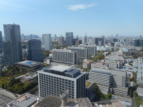 霞が関ビルからの眺望 2016④ 永田町