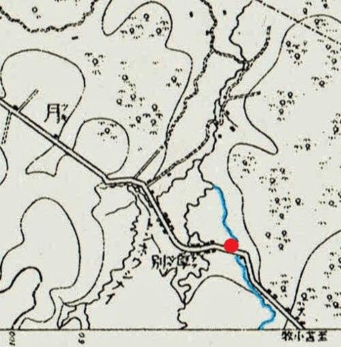 明治29年地形図 厚別川周辺