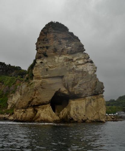 小樽 桃岩 海上からの眺め②