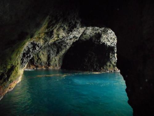 青の洞窟 内部①