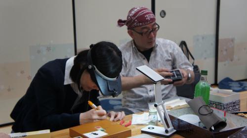 9村田さん駒作りトライ