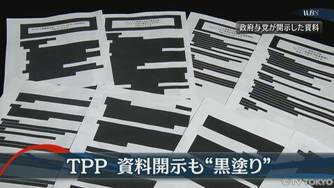 TPP、国民にとってプラスなら、なぜひた隠す必要があるのか!安倍は何を隠したいのか!小沢一郎・事務所