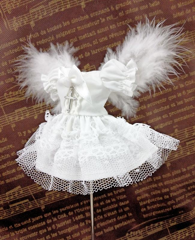天使ワンピース 白