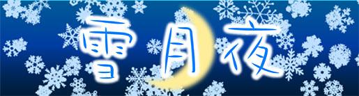 雪月夜トップ画像