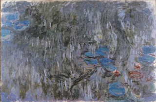 クロードモネ睡蓮、柳の反影1916-19年