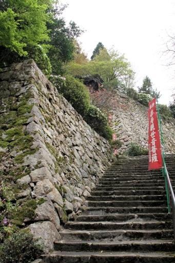 巌倉寺の石垣