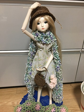 20160602 球体関節人形 衣装