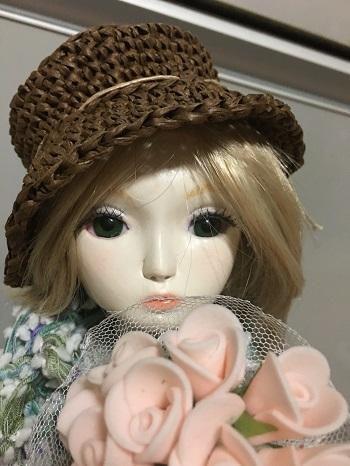 20160602 球体関節人形 帽子