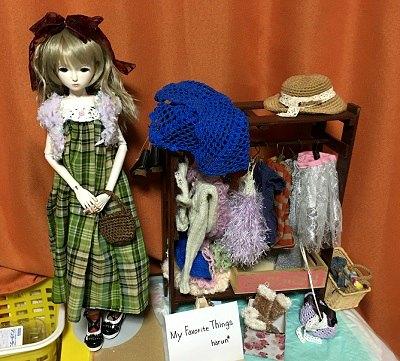 20160615 創作人形 ドールスタンド使用
