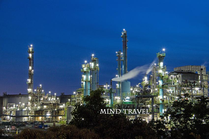 堺泉北工業地帯 夜景