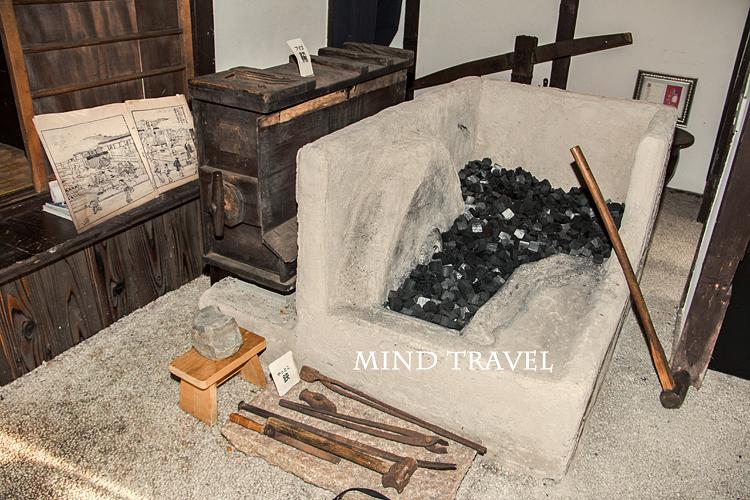 堺鉄砲館 炉とふいご