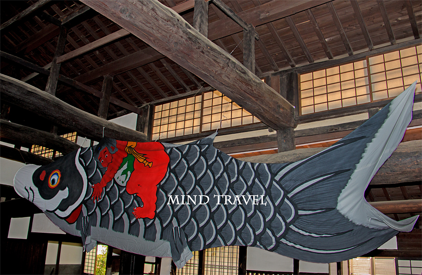 山口家住宅 鯉のぼり