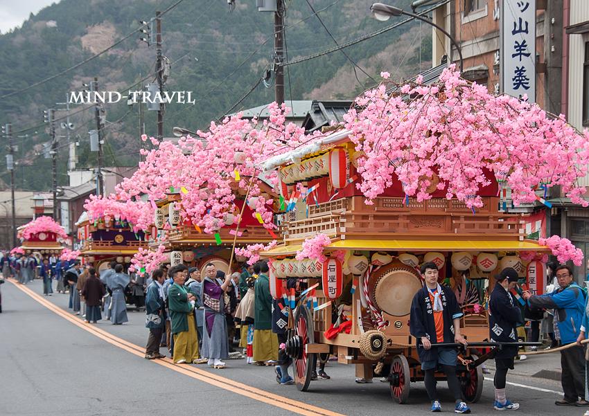 弥生祭 並ぶ花家体