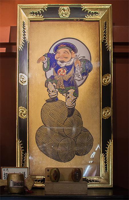 二荒山神社 本社 大黒天像