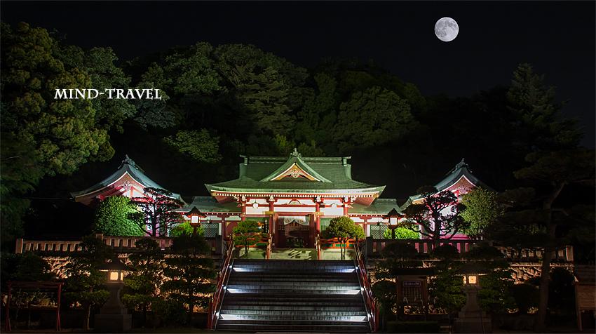 織姫神社 ライトアップ