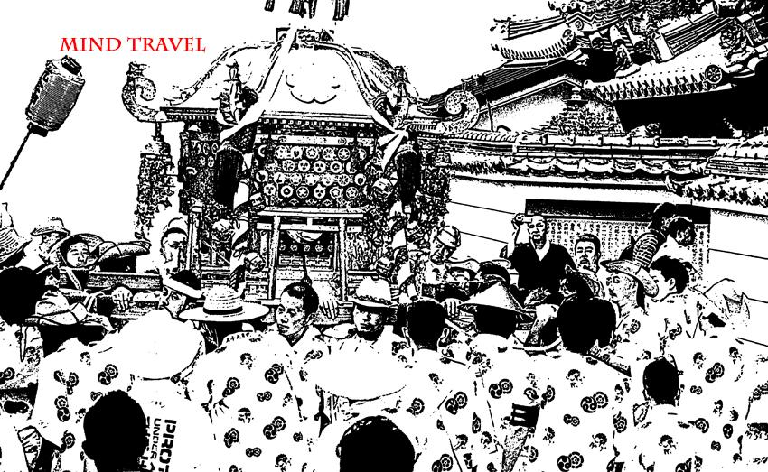 杭全神社 御神輿2