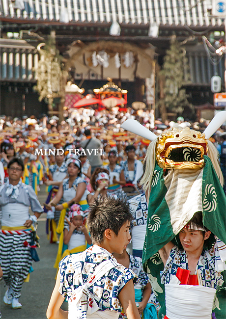 天神祭 獅子舞