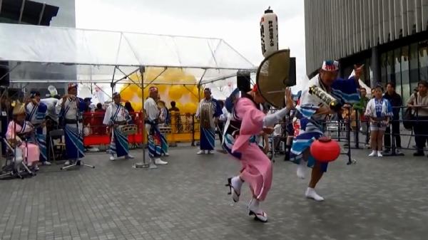 神戸楠公連 うめきたフェスティバル2016 阿波踊り 祖谷