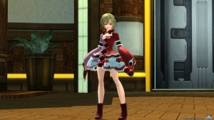 PSO2 スイートベアッド紅