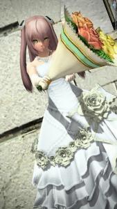 305【PSO2 ロビーアクション】237「花束」